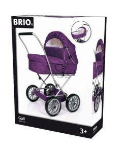 BRIO® Kombi Dukkevogn Plomme lilla