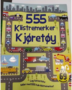 555 klistremerker om kjøretøy.