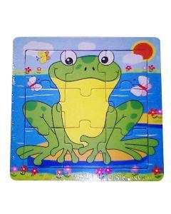 Trepuslespill - Glad Frosk