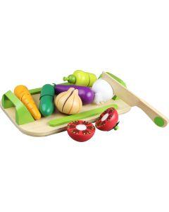 Treleke - Grønnsaker på serveringsfat