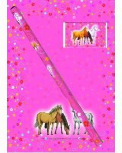 Hest - Notatblokk Med Blyant og Viskelær