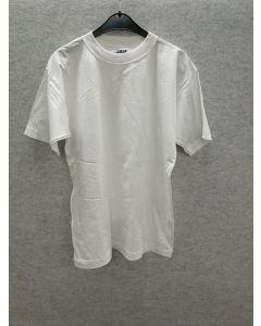 Hvit linje T-skjorte