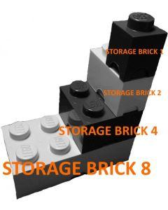 LEGO - Oppbevaringskasse 4 - Lys Blå