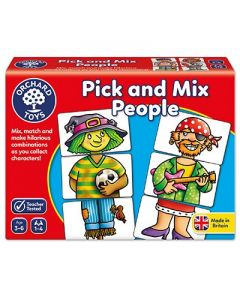 Orchard Toys - Pick and mix people Brettspill