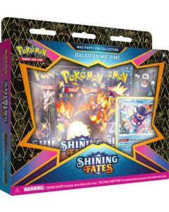 Pokémon TCG Shining Fates - Mad Party Pin Collection Galarian Mr. Rime