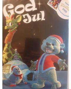 God jul kort med DVD film Rudolf
