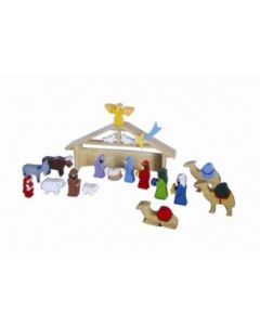 SRI Toys Trelekesett Jesu Fødsel