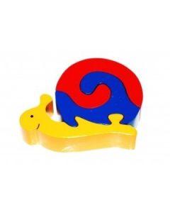 SRI Toys Klossepuslespill Snegle Liten