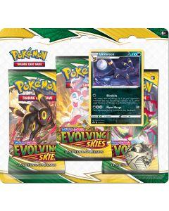 Pokémon TCG - Evolving Skies - 3 Pack Blister - Umbreon