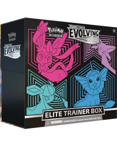 Pokémon TCG - Evolving Skies Elite Trainer Box - Sylveon, Espeon, Glaceon & Vaporeon