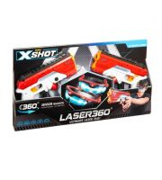 Aktivitetsspill Megazone Xshot laser pistol og briller tag 2stk i pakken