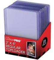 ULTRA PRO Toploader 3x4 (25) Clear Regular