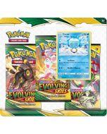 Pokémon TCG - Evolving Skies - 3 Pack Blister - Eiscue